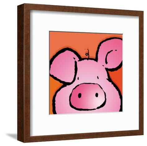 Pig-Jean Paul-Framed Art Print