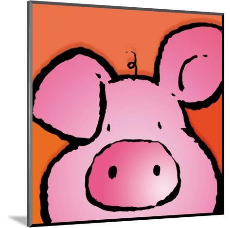 Pig-Jean Paul-Mounted Art Print