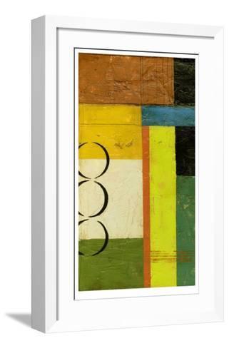 Chutes and Ladders II-Jennifer Goldberger-Framed Art Print