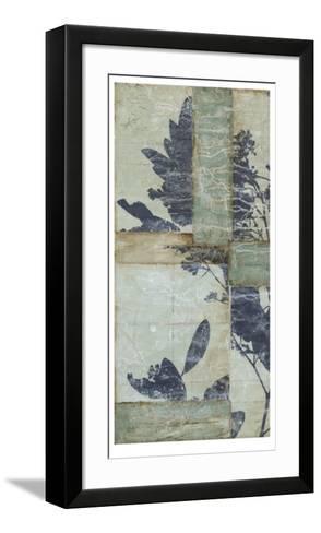 Indigo Branches II-Jennifer Goldberger-Framed Art Print