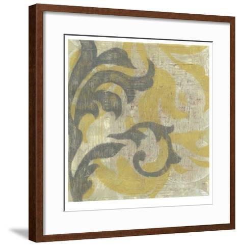 Decorative Twill II-Jennifer Goldberger-Framed Art Print
