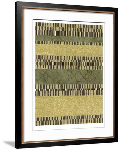 Linear Layers I-Jennifer Goldberger-Framed Art Print