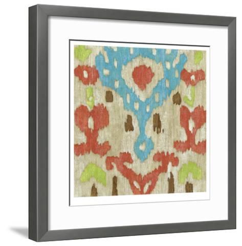 Island Ikat I-Chariklia Zarris-Framed Art Print