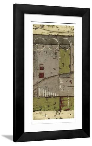 Abstract Geometry I-Ethan Harper-Framed Art Print