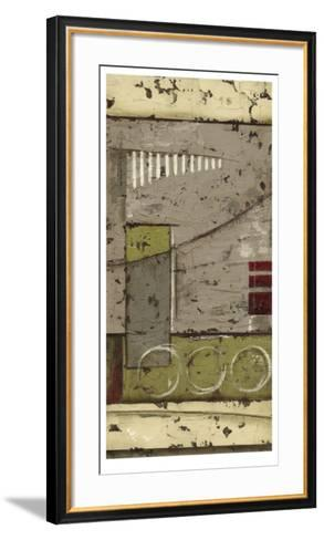 Abstract Geometry II-Ethan Harper-Framed Art Print