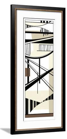 Abstract Matrix I-Ethan Harper-Framed Art Print