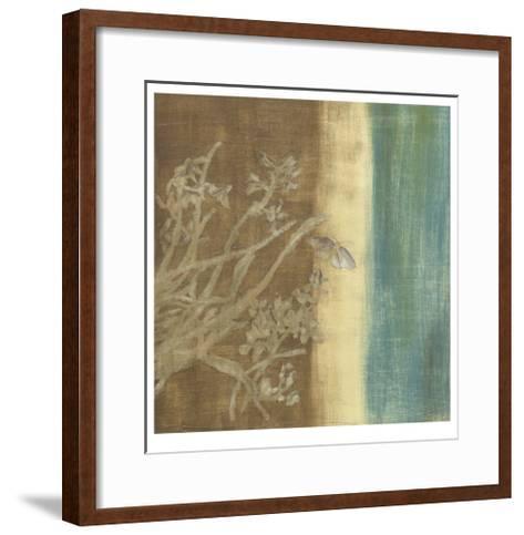Antique Ivory III-Chariklia Zarris-Framed Art Print