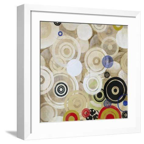 Lots of Spots IV-Bridges-Framed Art Print