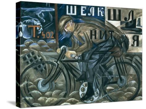 The Cyclist-Natalie Gontcharova-Stretched Canvas Print
