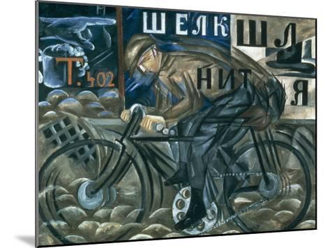 The Cyclist-Natalie Gontcharova-Mounted Art Print