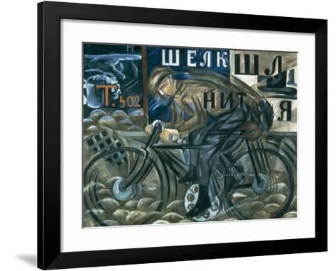 The Cyclist-Natalie Gontcharova-Framed Art Print