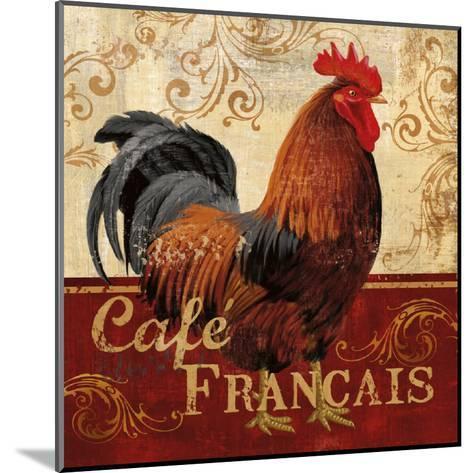 Cafe Francais-Conrad Knutsen-Mounted Art Print