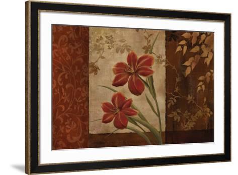 Jardin Exotico II-Conrad Knutsen-Framed Art Print