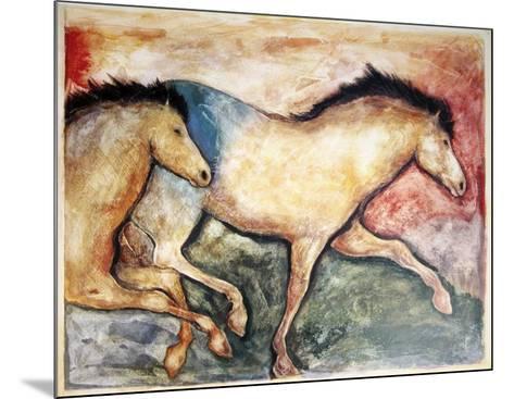 Primal Skin Crossing II-Carol Grigg-Mounted Art Print