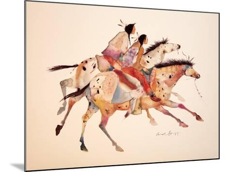 The Two Brothers-Carol Grigg-Mounted Art Print