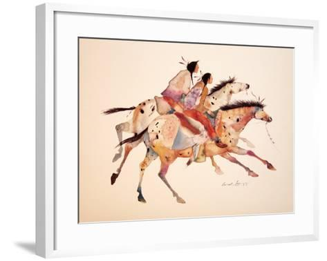 The Two Brothers-Carol Grigg-Framed Art Print