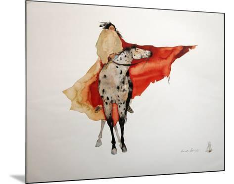 Warrior Walk-Carol Grigg-Mounted Art Print