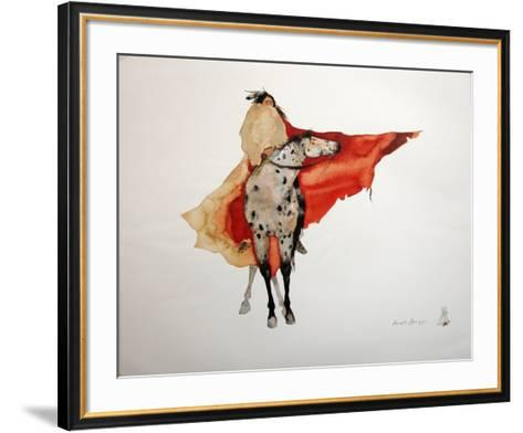 Warrior Walk-Carol Grigg-Framed Art Print