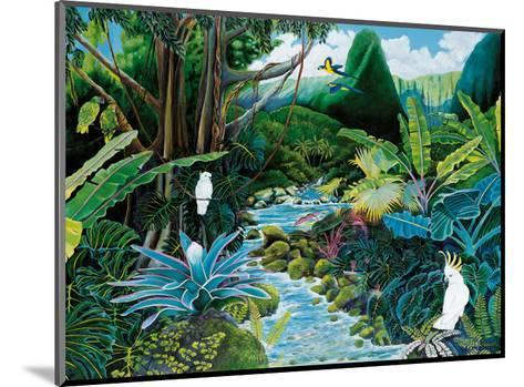 Iao Valley, Maui, Hawaii-Ari Vanderschoot-Mounted Art Print