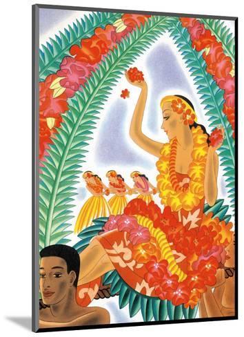 The Hawaiian Celebration-Frank MacIntosh-Mounted Art Print