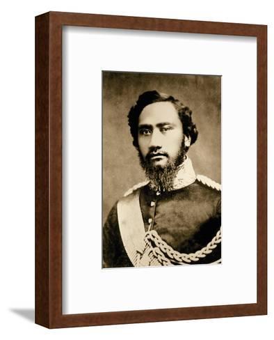 Kamehameha IV, Hawaiian King (1834-1863)--Framed Art Print