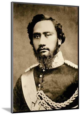 Kamehameha IV, Hawaiian King (1834-1863)--Mounted Art Print