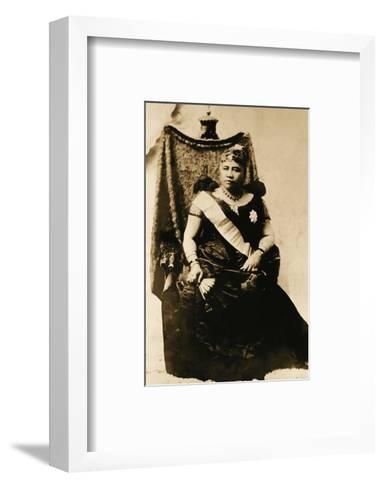 Queen Liliuokalani, Hawaii (1838-1917)--Framed Art Print