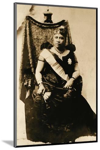 Queen Liliuokalani, Hawaii (1838-1917)--Mounted Art Print