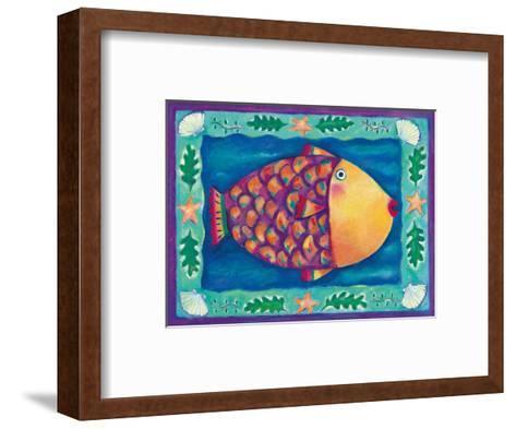 Humuhumunukunukuapua'a, Hawaii State Fish-Deybra Faire-Framed Art Print