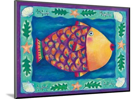 Humuhumunukunukuapua'a, Hawaii State Fish-Deybra Faire-Mounted Art Print