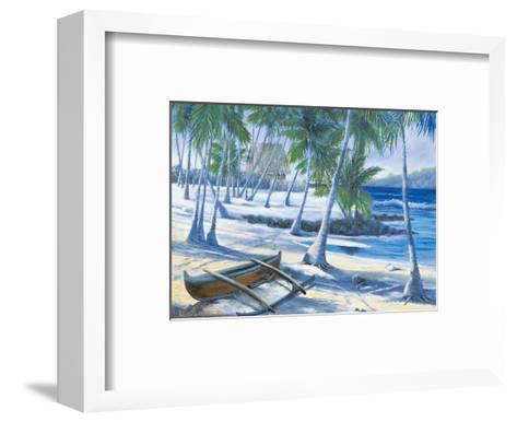City of Refuge, Big Island, Hawaii-Dawn Lundquist-Framed Art Print