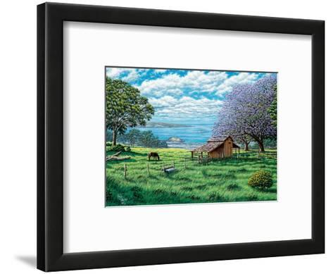 Ulupalakua, Upcountry Maui, Hawaii-Hans Olson-Framed Art Print