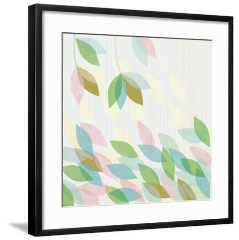 Tropical Garden I--Framed Art Print