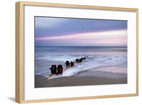 Breakwater-Nadia Isakova-Framed Art Print