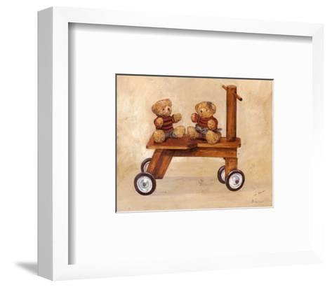 Two Teddy Bears-Bravo-Framed Art Print