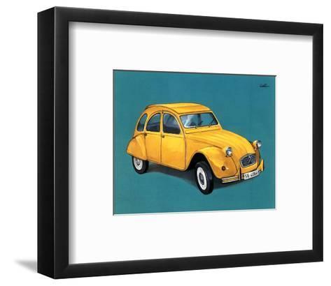 Car I- Conto-Framed Art Print