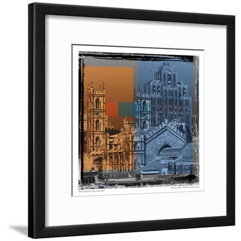 Montrealopolis-Jean-Fran?ois Dupuis-Framed Art Print