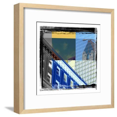 Skycrapers Frame-Jean-Fran?ois Dupuis-Framed Art Print