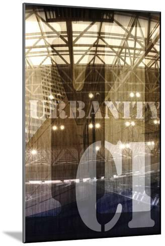 Urbanity I, Center Panel-Jean-Fran?ois Dupuis-Mounted Art Print