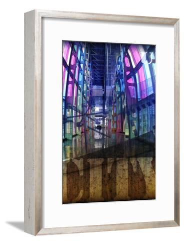 Urbanity III, Left Panel-Jean-Fran?ois Dupuis-Framed Art Print