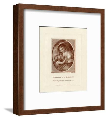 Nature's Gifts to Shakespeare--Framed Art Print