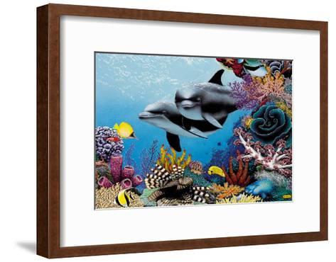 Hawaiian Treasures-Mark Mackay-Framed Art Print