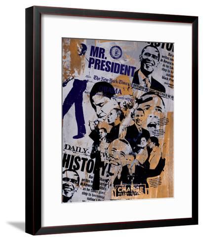 Mr. President-Bobby Hill-Framed Art Print