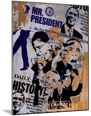 Mr. President-Bobby Hill-Mounted Art Print