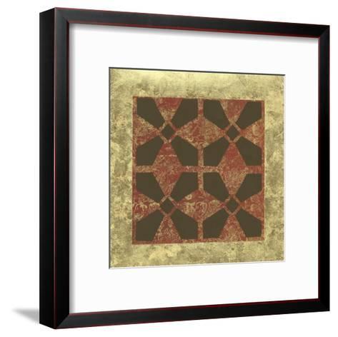 Patterned Symmetry III-Megan Meagher-Framed Art Print