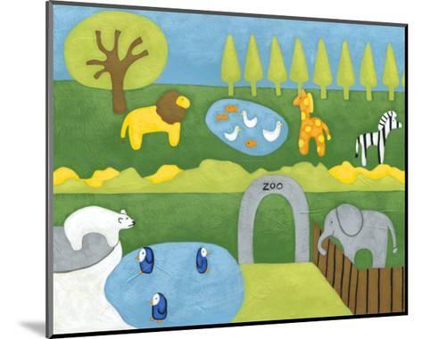 Storybook Zoo-Chariklia Zarris-Mounted Art Print