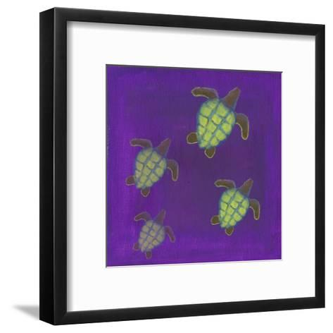 Wave Riders IV-Alicia Ludwig-Framed Art Print
