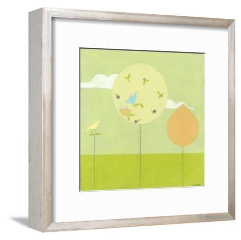 Lollipop Forest II-Erica J^ Vess-Framed Art Print