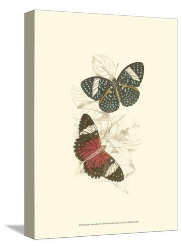 Butterflies I-Sir William Jardine-Stretched Canvas Print