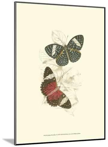 Butterflies I-Sir William Jardine-Mounted Art Print